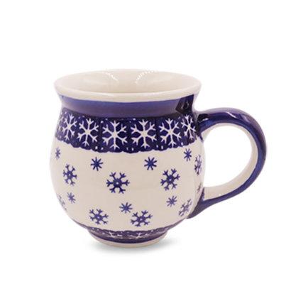 Snowflake Bubble Mug - Lrg