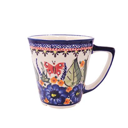 Blossoms & Butterflies Latte Cup