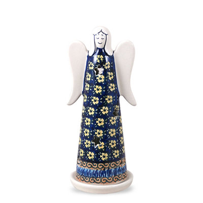 Midnight Daisy Illuminated Angel - Lrg