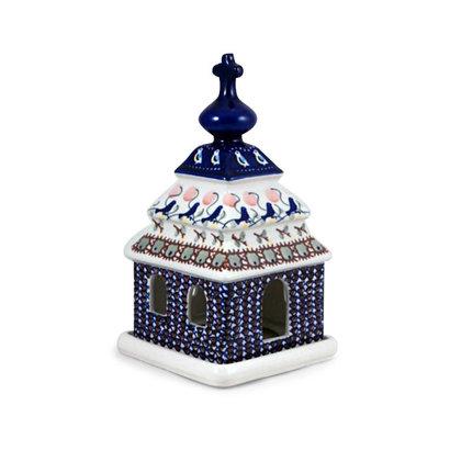 Blue Bird Illuminated Church
