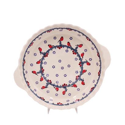 Carolers Pie Plate