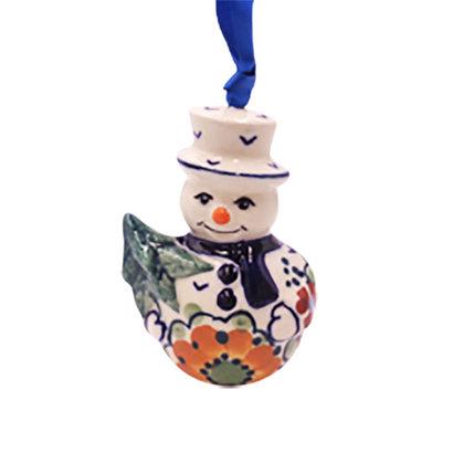 Avery Snowman Ornament