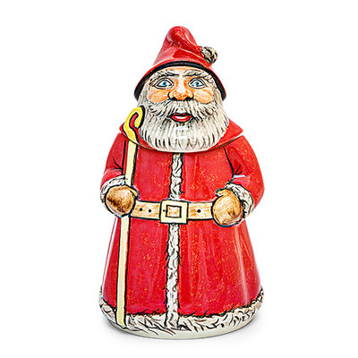 Folk Art Custom Painted Santa Box