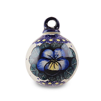 Pansies Ornament