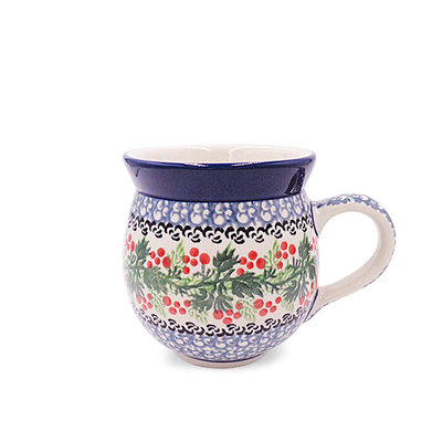 CA Holly Berry Bubble Mug