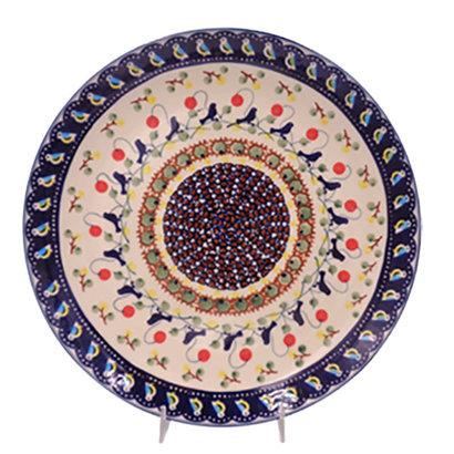 Blue Bird Dinner Plate 28