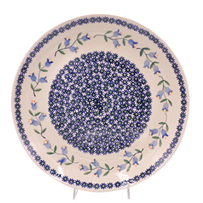 Bell Flower Dinner Plate 28
