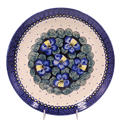 Pansies Dinner Plate 28