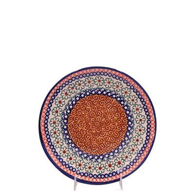 Pumpkin Spice Salad Plate 22