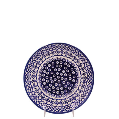 Diamond Lattice Salad Plate 22