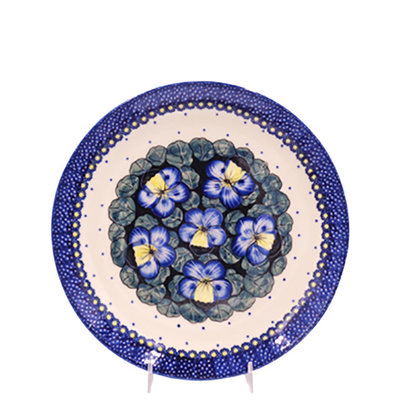 Pansies Dinner Plate 26
