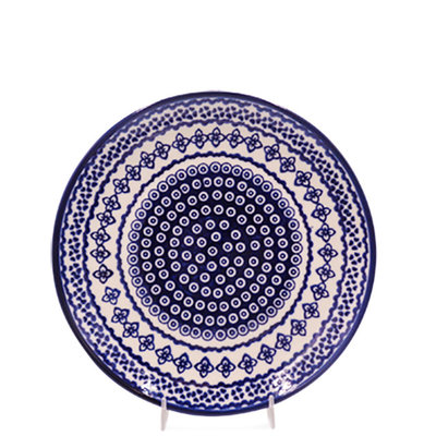 Diamond Lattice Dinner Plate 26