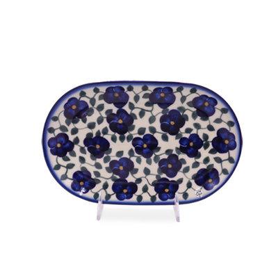 Petals & Ivy Oval Dish 24