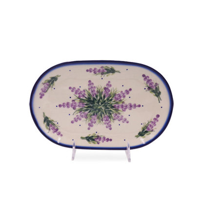 Claire Oval Dish 24