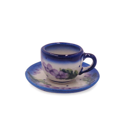 Claire Mini Cup & Saucer