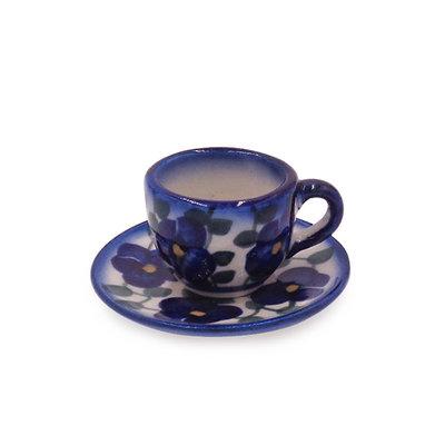 Petals & Ivy Mini Cup & Saucer