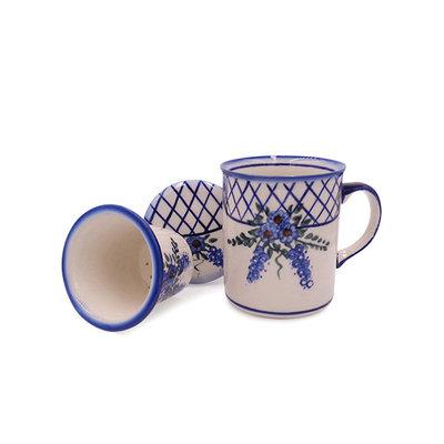 Lattice in Blue Tea Infuser