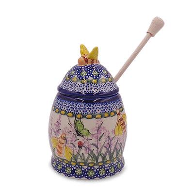 Larkspur Honey Pot