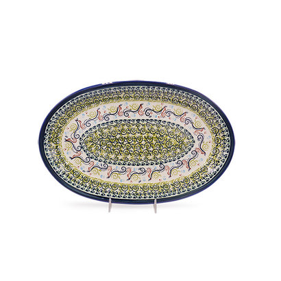 Snails Pace Oval Platter
