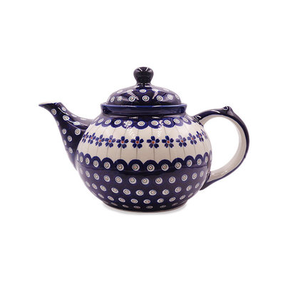 Floral Peacock Teapot