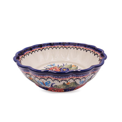 Butterfly Kisses Shallow Serving Bowl