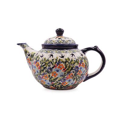 Black Birds Fly Teapot
