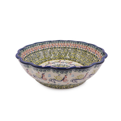 Snails Pace Shallow Serving Bowl