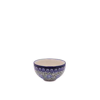 Blue Swirl Dipping Bowl