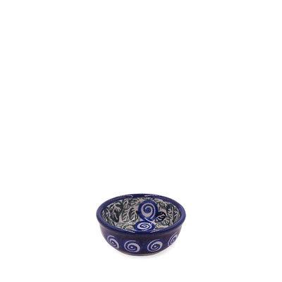 Blue Swirl Condiment  Bowl - Sm