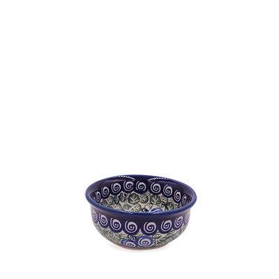 Blue Swirl Condiment Bowl