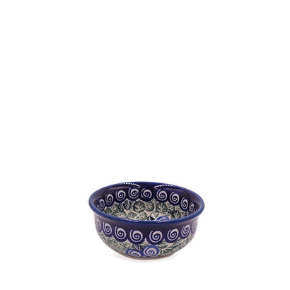 Blue Swirl Condiment Bowl
