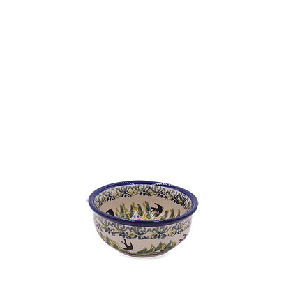 Black Birds Fly Condiment Bowl