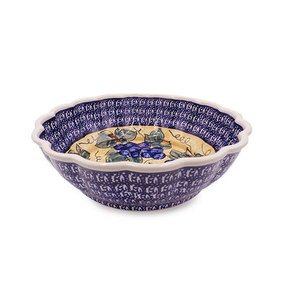 Vineyard Shallow Serving Bowl