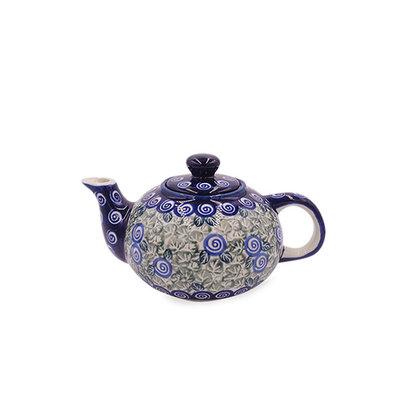 Blue Swirl Tea for One
