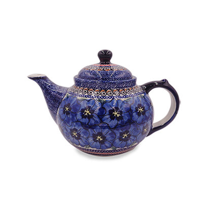 Morning Glory Teapot