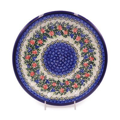 Kalich Trail of Roses Dinner Plate 26