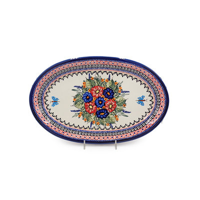 Butterfly Kisses Oval Platter