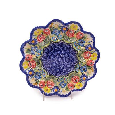Kalich Anne's Garden Egg Plate