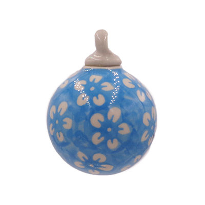 Turquoise Blossom Ornament
