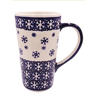 Snowflake Tall John Mug