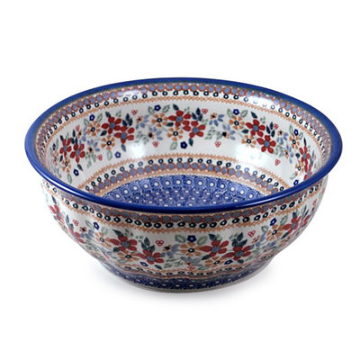 Posies F30 Fluted Serving Bowl