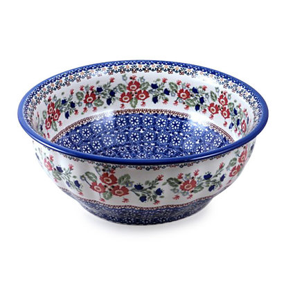 Lidia Bowl F30 Fluted Serving Bowl