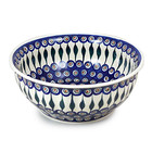 Peacock F30 Fluted Serving Bowl