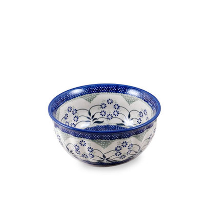 Forget Me Nots F18 Fluted Chili Bowl