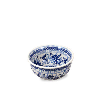 Indigo Garden F15 Fluted Cereal Bowl