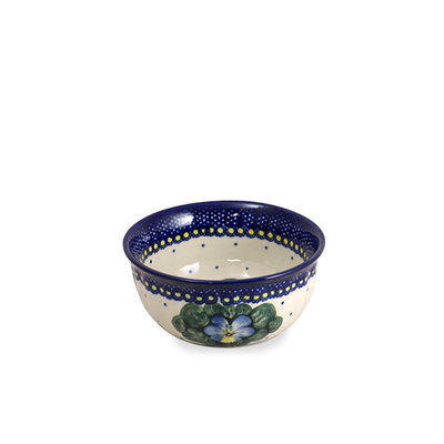 Pansies F15 Fluted Cereal Bowl