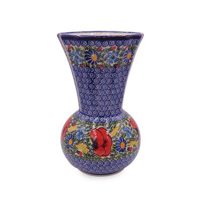 Kalich Wild Poppies Angular Vase