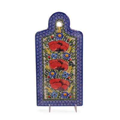 Kalich Wild Poppies Cutting Board