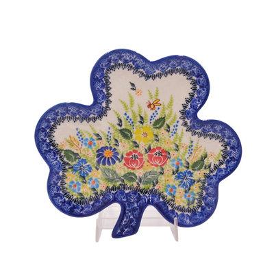 Kalich Anne's Garden Shamrock Plate
