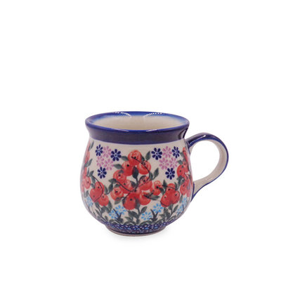 Kalich Red Berries Small Bubble Mug